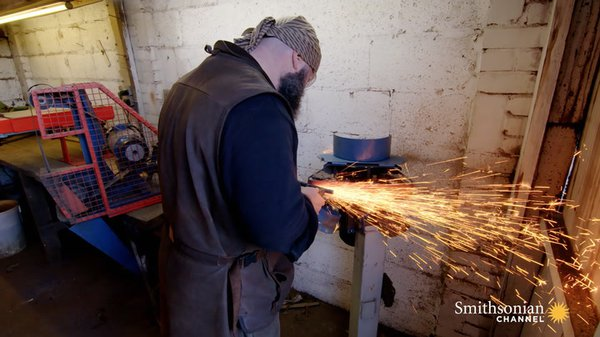 Preview thumbnail for This London Blacksmith Forges Replicas of Medieval Swords