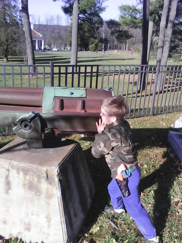 My Son at The Memorial Park thumbnail