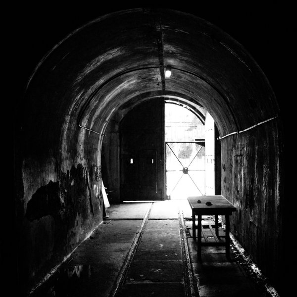 Looking out from inside the abandoned battery... thumbnail