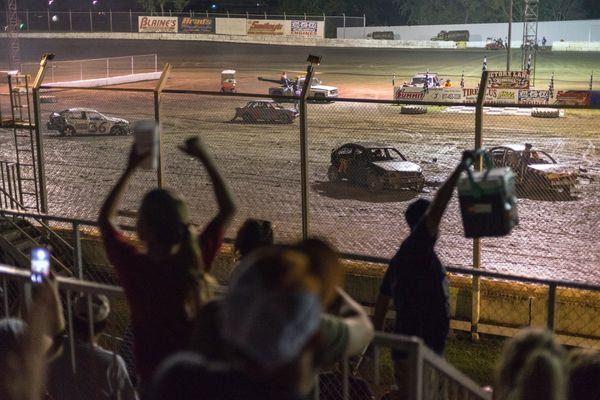Speedway Park, demolition derby (we have a winner!) thumbnail