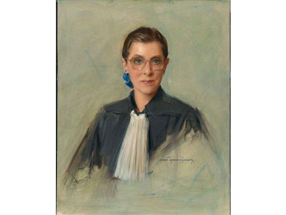 Ruth Bader Ginsburg, Everett Raymond Kinstler, 1996