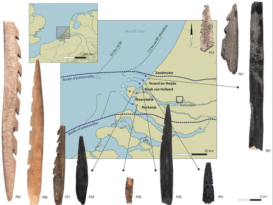 Ancient European Hunters Carved Human Bones Into Weapons
