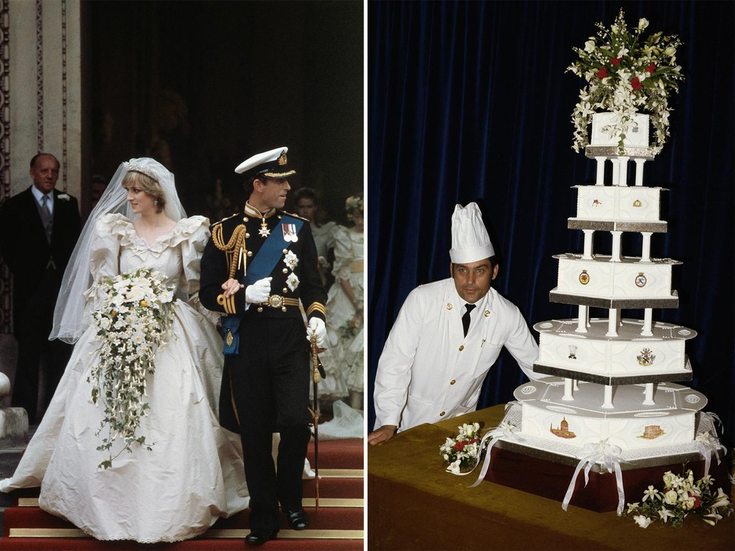 You Could Own a Slice of Princess Diana's Wedding Cake