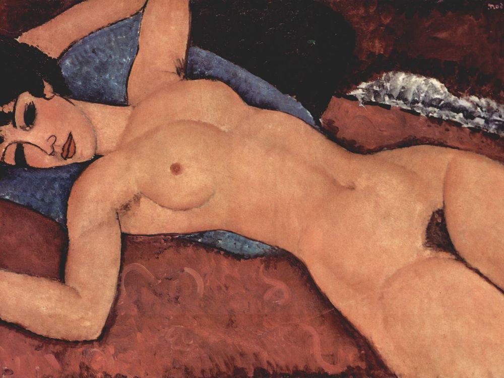 Nu Couché Modigliani
