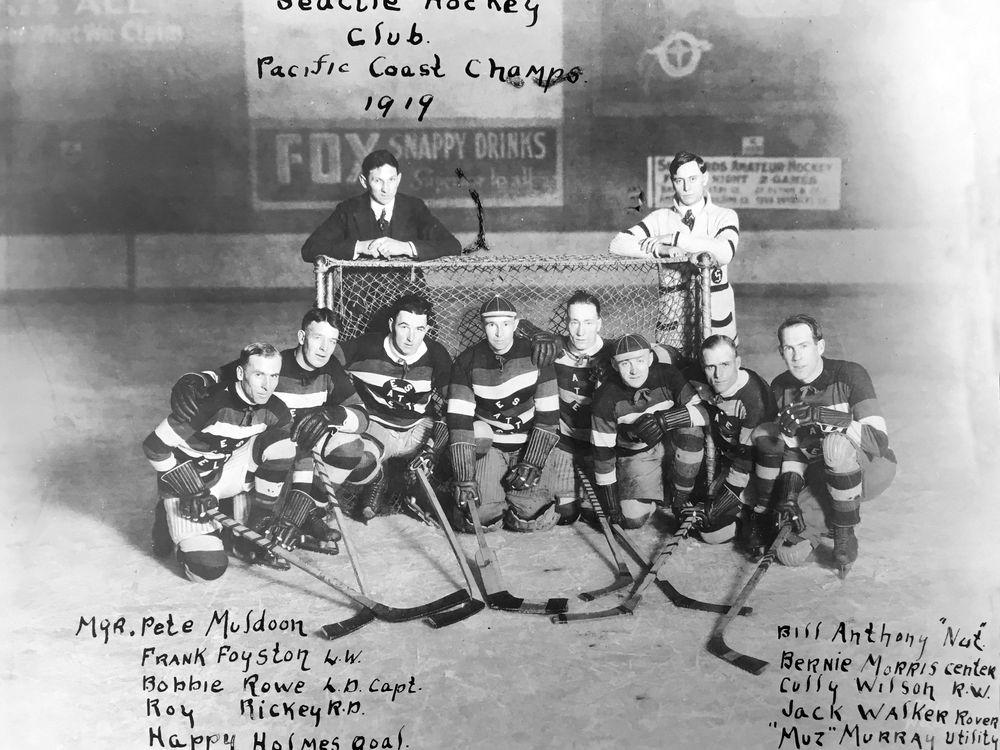 Seattle Metropolitans 1919 team photo