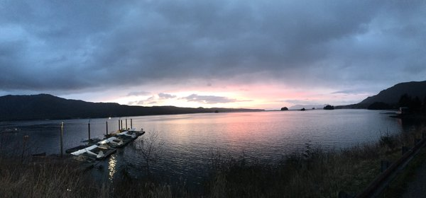 Sunset in Ketchikan Alaska thumbnail