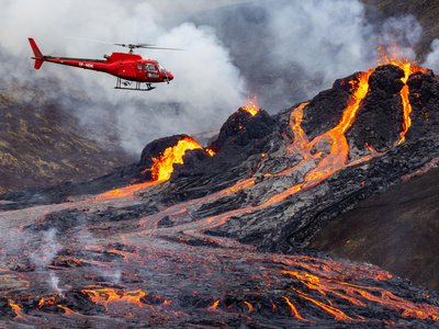 Iceland currently has 30 active volcanoes and is known for its frequent seismic and volcanic activity.
