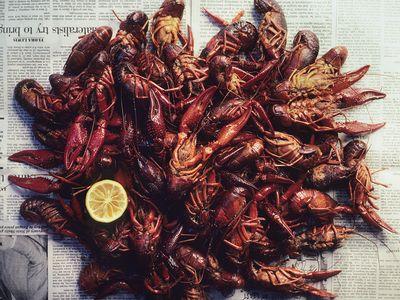 Bayou crawfish boil