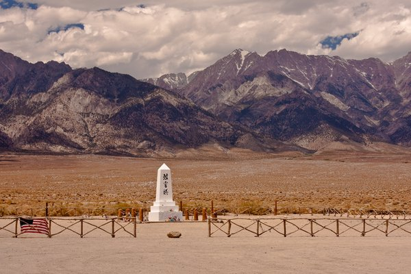 Manzanar memorial, site of World War II internment of US citizens thumbnail