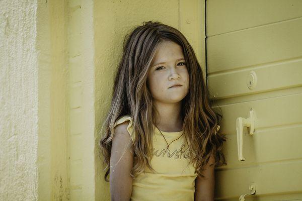 Little Girl Yellow.  thumbnail