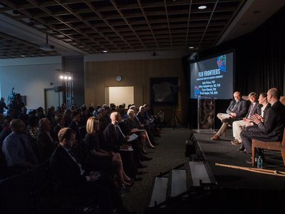 Thought leaders gathered at the National Museum of Natural History to discuss the past, present and future of the flu.