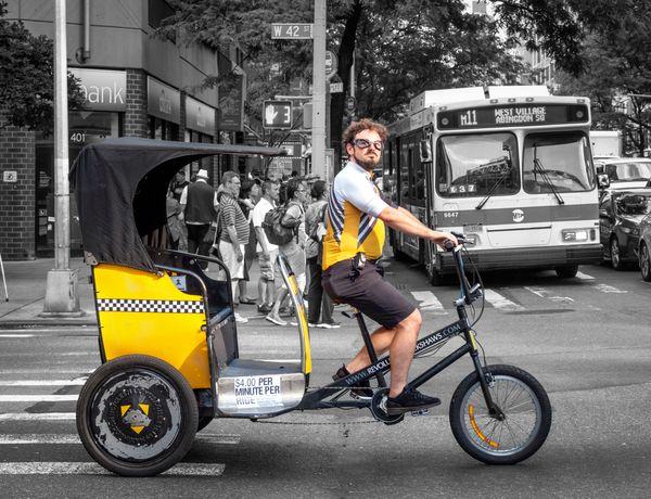 New York City Pedicab thumbnail