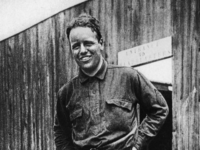 """""""I am now a member of the 95th Aero Squadron, 1st Pursuit Group,"""" Quentin Roosevelt proudly announced to his mother on June 25, 1918. """"I'm on the front—cheers, oh cheers—and I'm very happy."""""""