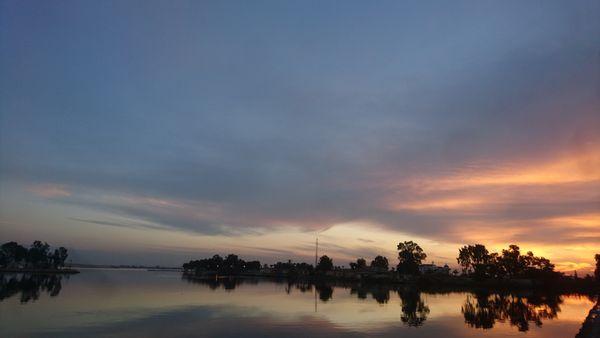 sunset at the city thumbnail