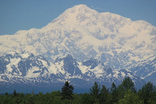 I zoomed in on Mt McKinley. thumbnail