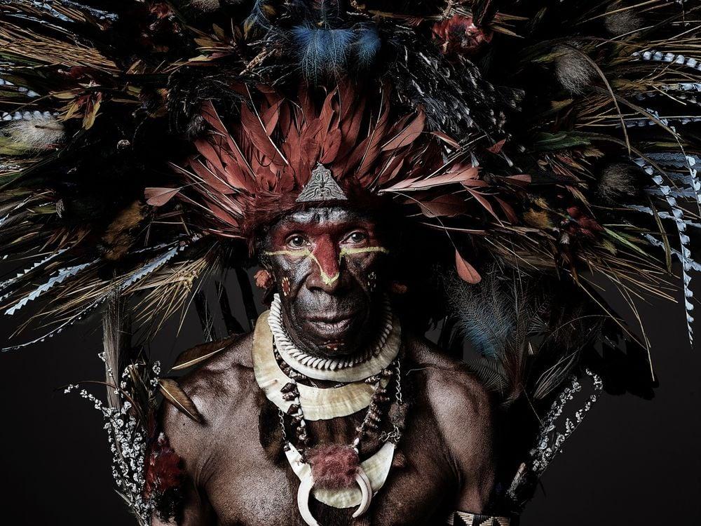 Joseph Kayan, a Goroka Show participant from Chimbu Province