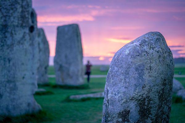 Photographer at Stonehenge thumbnail