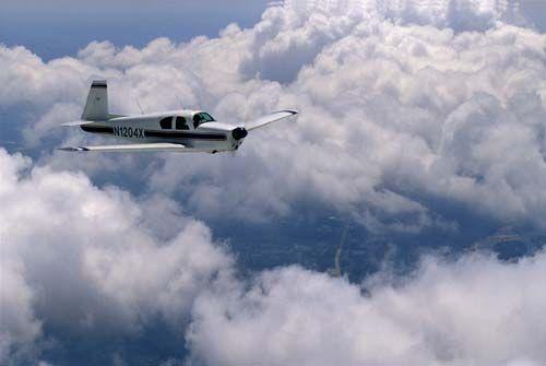 Mooney M20C (not the one we flew)