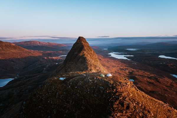 Suilven Wild Camping Sunset thumbnail