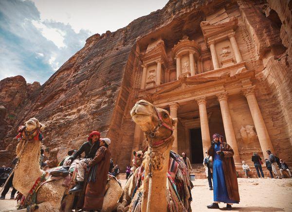 The ancient Rose City of Petra. thumbnail