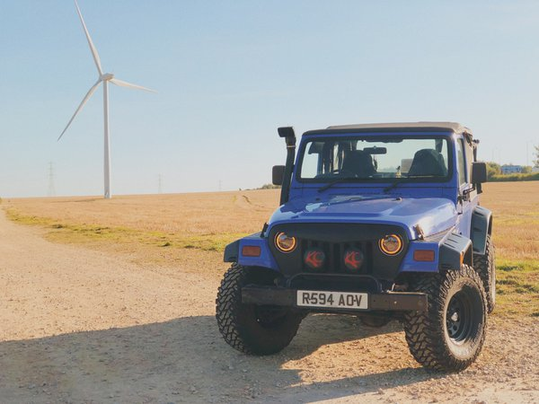 Windmill farm Jeep  thumbnail