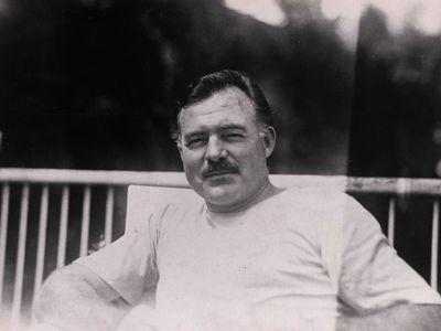 Hemingway in Cuba.