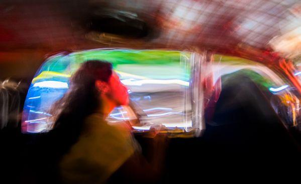 A late night cab ride. thumbnail