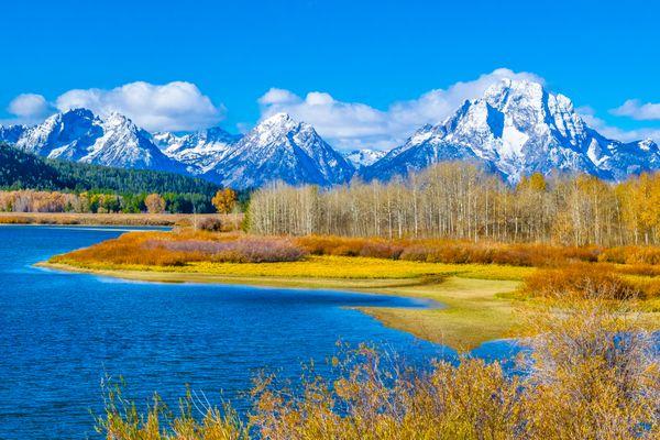 Fall at the Grand Tetons thumbnail