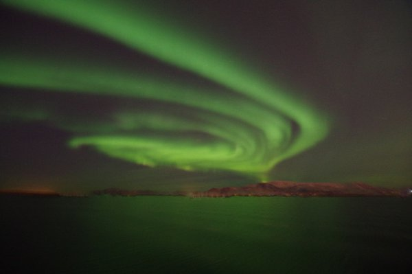 Northern Lights in Reykjavik Iceland thumbnail