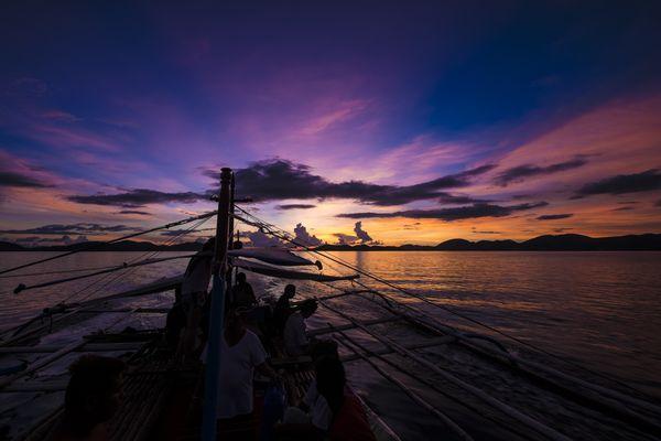 Dusk in Coron, Palawan, Philippines thumbnail
