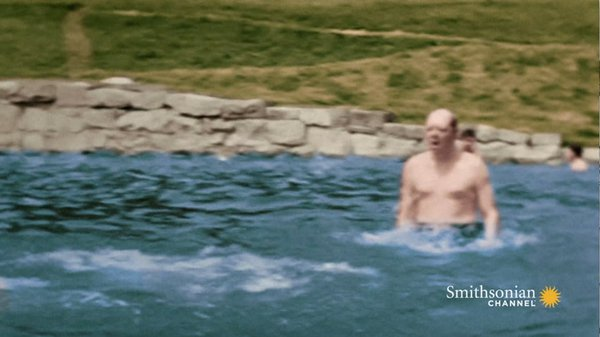 Preview thumbnail for Rare Footage Shows a Warmer Side to Winston Churchill