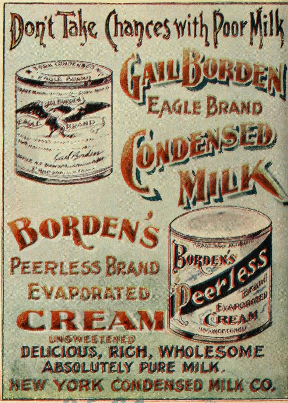 Like Condensed Milk? Try the 'Meat Biscuit'