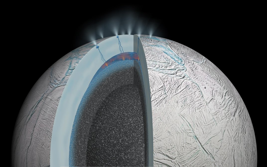 NASA Spacecraft Heads for Deepest Ever Dive Into Saturn Moon's Plumes