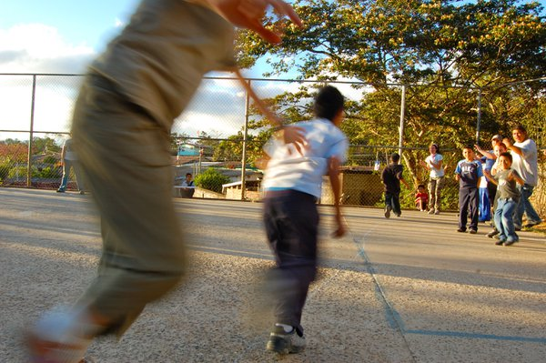 The excitement of learning kickball in El Salvador thumbnail