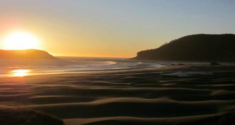 Sunset just south of Humbug Mountain