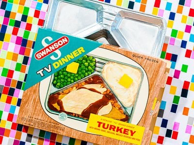 A new form of entertainment and a wandering trainload of frozen turkey triggered a convenience food boom.