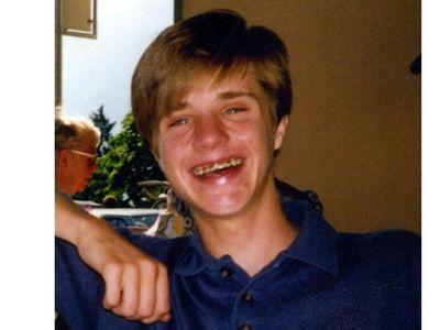 Matt Shepard in high school, taken in Lugano, Switzerland