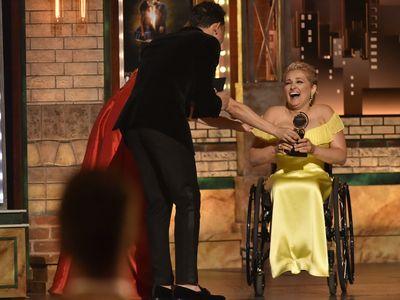 Ali Stroker at the 73rd Annual Tony Awards
