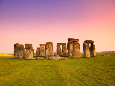 Researchers recorded striking similarities between Stonehenge and a razed stone circle at the Waun Mawn archaeological site in Wales.
