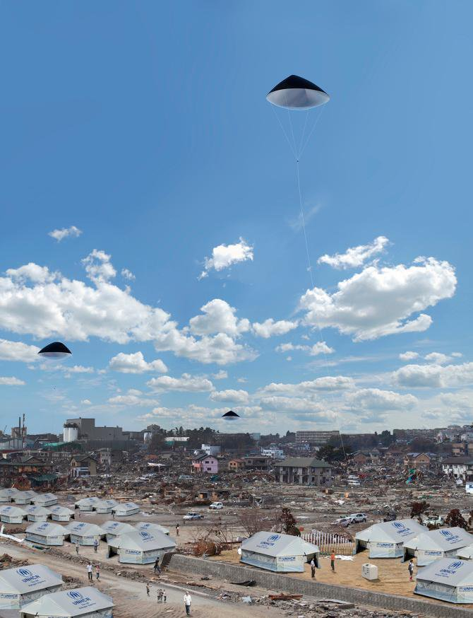 A Photovoltaic Balloon Could Bring Electricity to Disaster Zones