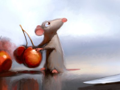 "Robert Kondo, Remy in the Kitchen, ""Ratatouille,"" 2007"