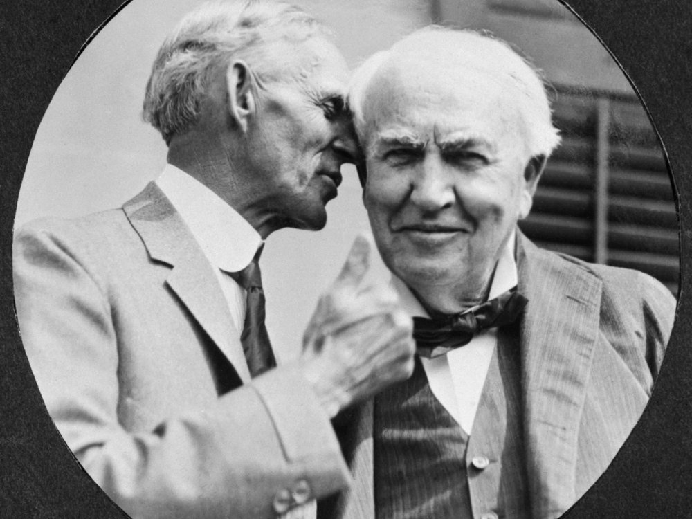 Ford and Edison