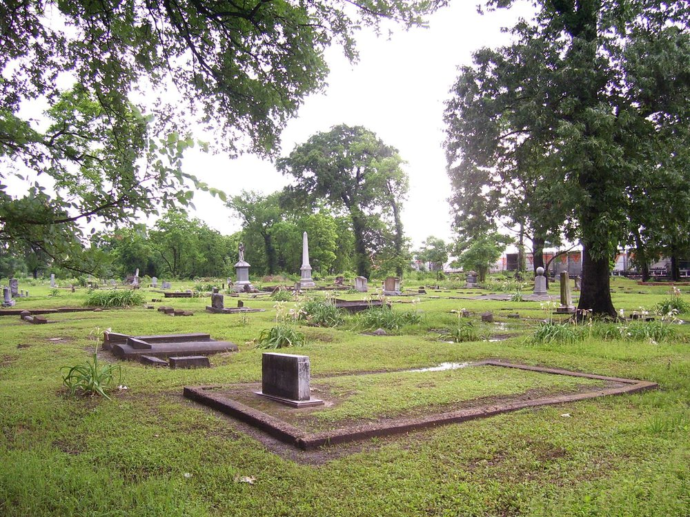 View of Olivewood Cemetery