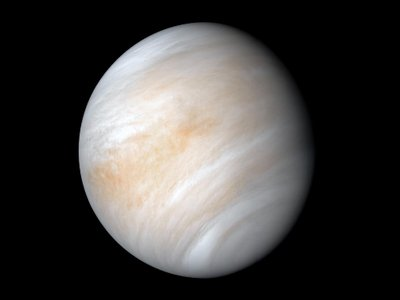Venus, the second planet from the sun
