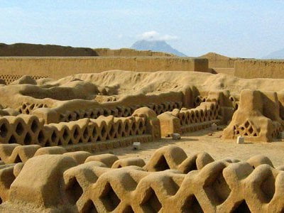 Once the capital of an empire, Chan Chan was the largest adobe city on earth.