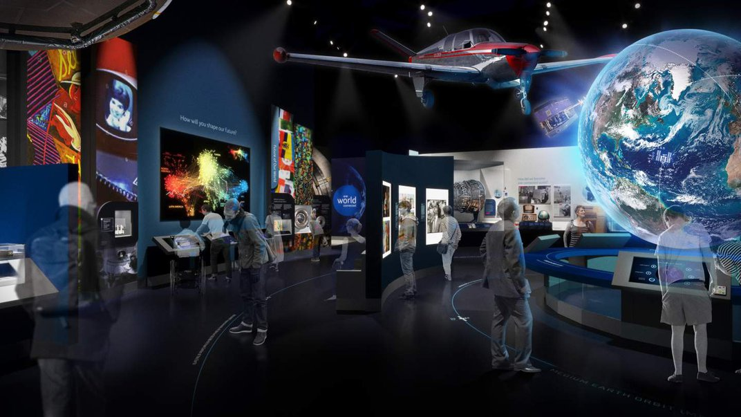 National Air and Space Museum Says Pardon Our Renovation, but Come Anyway