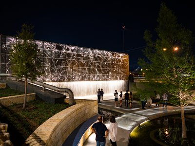 """The first phase of San Pedro Culture Park, dubbed """"Latino High Line,"""" opened earlier this month."""