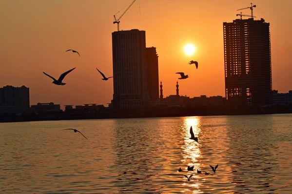 Sunrise in Sharjah thumbnail