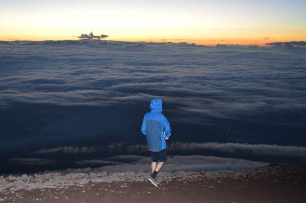 Sunrise atop Mt. Fuji August 20, 2016 thumbnail