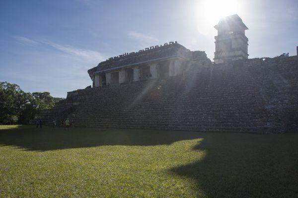At the Ruins of Palenque thumbnail